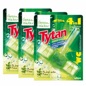 3x Green Water Tytan kostka do wc